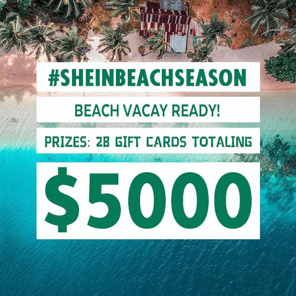 Shein beach season