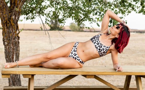 ANIMAL PRINT SHEIN SWIMWEAR