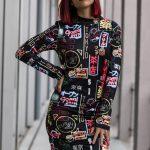 Vestido estampado Tokio