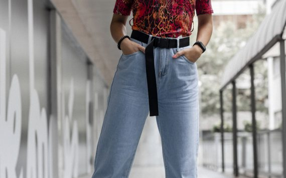 SLOUCHY JEANS